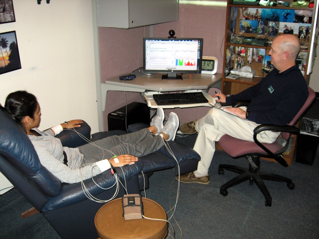 biofeedback training The technology of biofeedback has great promise for sport psychology and  specifically for psychological skills training psychological skills learned through.